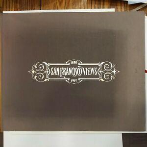 San Francisco Views 1850-1915, 25 Framable Photographs, Windgate Press 1993, VG+