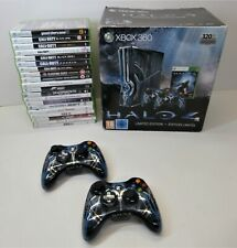 320GB Slim XBox 360 Halo 4 Limited Edition Console + 20 Games Mega Bundle
