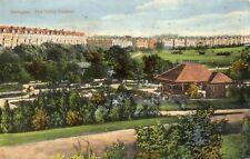 HARROGATE - The Valley Gardens - Yorkshire - 1917 Original Postcard (30P)