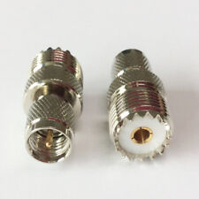 10Pcs SL16 Male Connector to M Female Connector For Motorola GM300 SM50 GM338