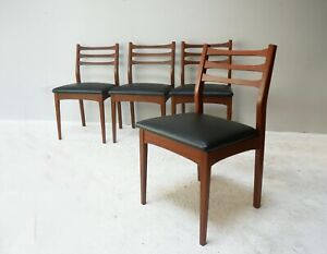 1960's mid century English dining chair - 6 available