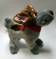 Disney Oliver and Company Dodger the Dog Plush Stuffed Animal 1988 Vintage Toy