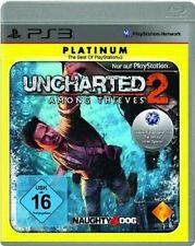 PLAYSTATION 3 UNCHARTED 2 Among Thieves PLATINUM ESSENTIAL NUOVO