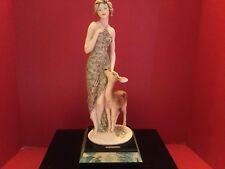 Lady With Deer Figurine By Armani