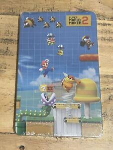 Super Mario Maker 2 Steelbook Case (NO GAME) • Nintendo Switch (New & Sealed)