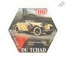 1929 MERCEDES BENZ 630K Tourer Classic Automobile Car (Hexagonal) Stamp