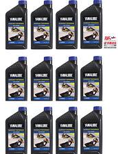 YAMALUBE 2W Watercraft 2-Stroke Engine Oil LUB-2STRK-W1-12 Quantity 12= 1 CASE