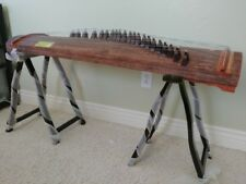 """Whole Piece Guzheng,Chinese Zither, 53""""L, 21 string, Dug from whole truck"""