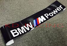 BMW M Power Windshield Sunstrip Decal Sticker M3 M4 M5 M6 Z4 Free Shipping x 1