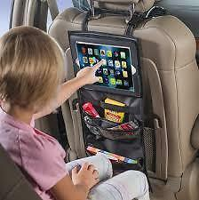 AUTO TABLET/IPAD Holder Organizer sedile posteriore con tasche di stoccaggio MC17/5