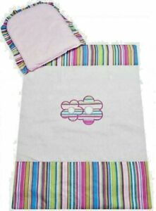 Baby Nursey Bedding Set For Stroller 70x80cm Pillow With Quilt Multicolor 2 in 1