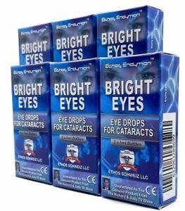 Cataract Bright Eyes Eye Drops for Ethos Vision Improvement 6 Boxes 60ml