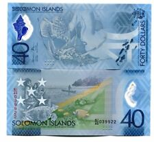 SOLOMON ISLANDS 40 DOLLARS 2018 P-NEW UNC COMMEMORATIVE POLYMER