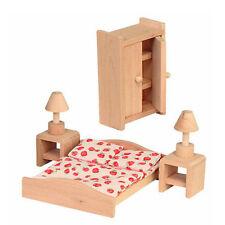 Beluga Spielwaren 70116 - Schlafzimmer Puppenhausmöbel