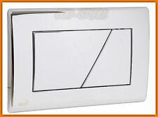 AlcaPLAST Push Plate WC chrome M171 Betätigungsplatte Drückerplatte