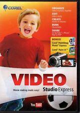 Corel VideoStudio Express 2011 + Corel PaintShop Photo Express + Corel Paint it!