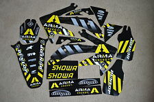 FLU  DESIGNS ARMA TEAM GRAPHICS HONDA CRF450R CRF450  2005 2006 2007 2008