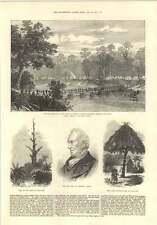 1874 Mr Jc Schetky Artist Whipping Post Inquabim Ashanti Native Artillery
