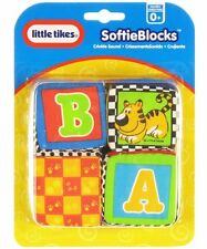 Little Tikes Softie Blocks New On Card Hard To Find!