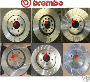 FORD FIESTA XR2 RS CROSS DRILLED BREMBO FRONT BRAKE DISC