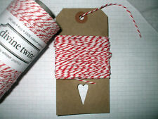 10mt 'Cherry' DIVINE BAKERS TWINE   Packaging Parties Embellishment