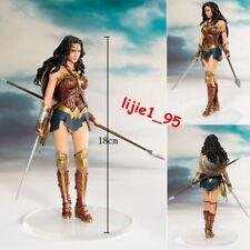 DC Comics Justice League Artfx+ Statue Wonder Woman 1/10 Scale Figure New In Box