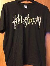 Halestorm.  Black Shirt.   2XL.