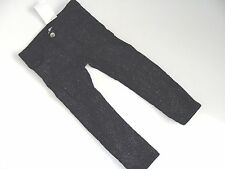 H&M Baby Girls Girl Navy Sparkle Jeans Corduroy Pants Size 1 1/2-2  Years NWT