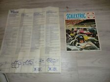 SCALEXTRIC Revue Circuit Scalextric Meccano Triang 1967 68