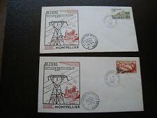 FRANCE - 2 enveloppes 4/10/1969 (cy84) french