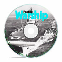 Profile Publications Warships - 40 Volume- WW1 WW2 Ships at Sea Mags CD DVD B53