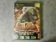 GODZILLA DESTROY ALL MONSTERS MELEE MICROSOFT XBOX ORIGINALE e 360 PAL ITALIANO