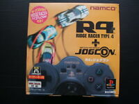 R4 Ridge Racer Type 4 + Jogcon Playstation 1 PS1 Japan BRAND NEW SEALED