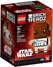 LEGO BrickHeadz #19 41485 Star Wars Finn (91 pieces) New & Sealed