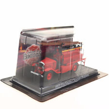 1/64 Fire Truck 1960 Premier-secours Hotchkiss FRANCE Diecast Models Toys Red