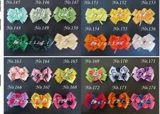 "100 BLESSING Good Latest Vogue Various Style 2.25 - 2.75"" E- Flower Bow 218 No."