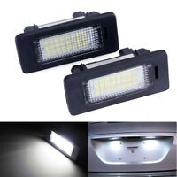 2X 24LED Error Free License Plate Light For BMW E82 E88 E90 E92 E39 E60 E61 E70