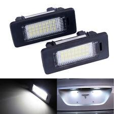 2X 24LED Error Free License Plate Light For BMW E82 E88 E90 E92 E39 E60 E61 E70
