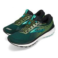 Brooks Ghost 12 Green Volt Black White Men Running Shoes Sneakers 110316 1D