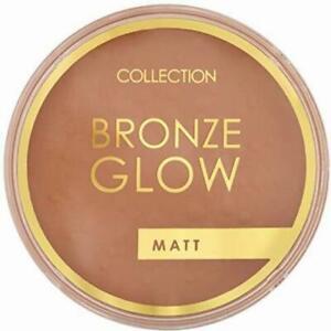 Collection Face Bronze Glow Matt Pressed Powder Makeup #1 Terracotta 15 g
