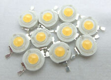 50x weiße white 1 Watt High Power LED 100-110 lm _1W Beads warm - cool white