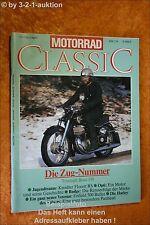 Motorrad Classic 2/91 Triumph Boss Kreidler Rudge Enfie