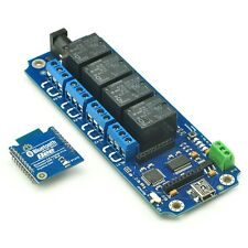 TOSR141- 4 Channel Smartphone Bluetooth Relay with Password for Andorid/IOS