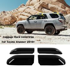 Roof Rack Cover Rail End Shell Replacement Fit for Toyota 4Runner 2010-2019 4pc