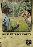 Topps 2018 The Walking Dead chasseurs et la chasse Trading Card Pack