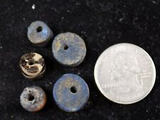 Ancient Glass Beads, Set of 5