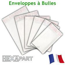 Enveloppe à bulles d'air pochettes matelassées d'expedition 11 formats au choix