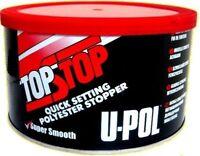 U-pol TOP STOP RED Filler Smooth Finishing Stopper UPOL Car filler Topstop 750ml