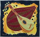 Antique rug/carpet/textile/tapestry European French Fabrice 1960