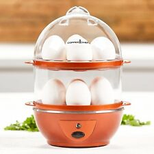 Copper Chef Perfect Electric Egg Maker Make Up To 14 Auto Boiled Eggs Cooker